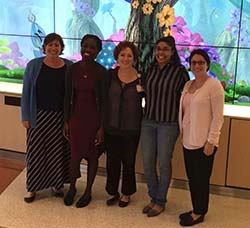 Field Trip to Nemours/A.I. DuPont Hospital for Children Group Picture