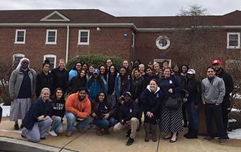 Social Work majors take a field trip to Fair Acres Geriatric