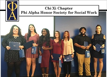 Honor Society for Social Work Group Image