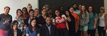 Social Work students from SW 305 Communities