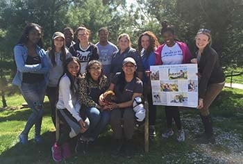 Students visit Main Line Animal Rescue