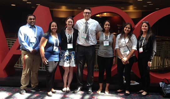CLS Students Join Medical Professionals at Clinical Chemistry Expo