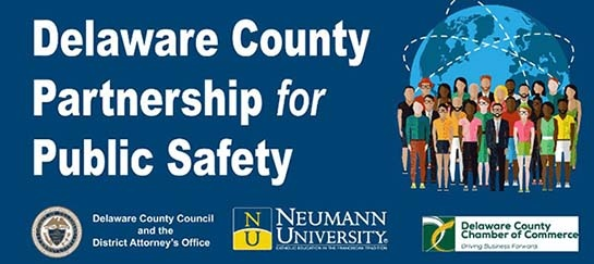 Logo for the Delaware County Partnership for Public Safety