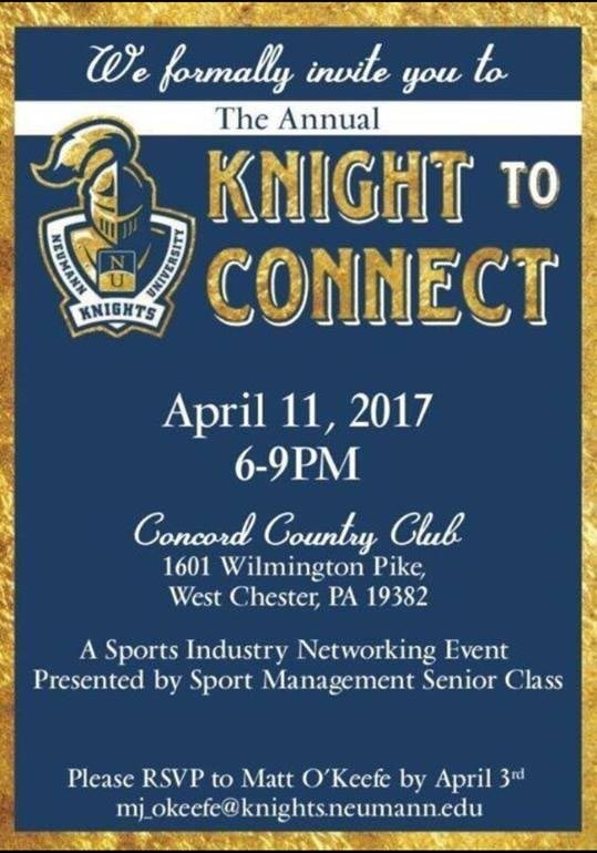 Invitation to Knight to Connect