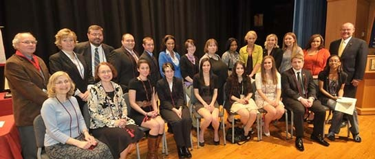 Alpha sigma chi chapter of sigma tau delta international english honor society members
