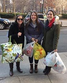 Photo of Maria Marx, Olivia Gilbertson, and Kelsey Sullivan