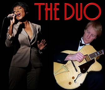 The jazz and blues group The Duo to perform on Thursday, September 8 at 1:30 p.m.