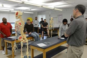 Physical Therapy Students in a Classroom