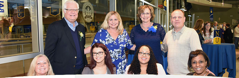 Neumann university parents and scholarship donors