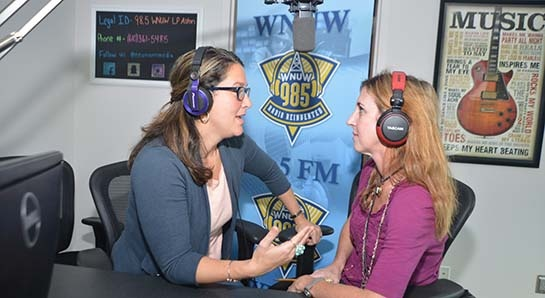 Photo of Ramona Palmerio-Roberts and Colleen McDonough