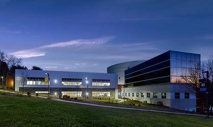 new health sciences center building at Neumann university