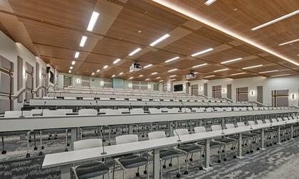 atheltic training classroom at neumann university