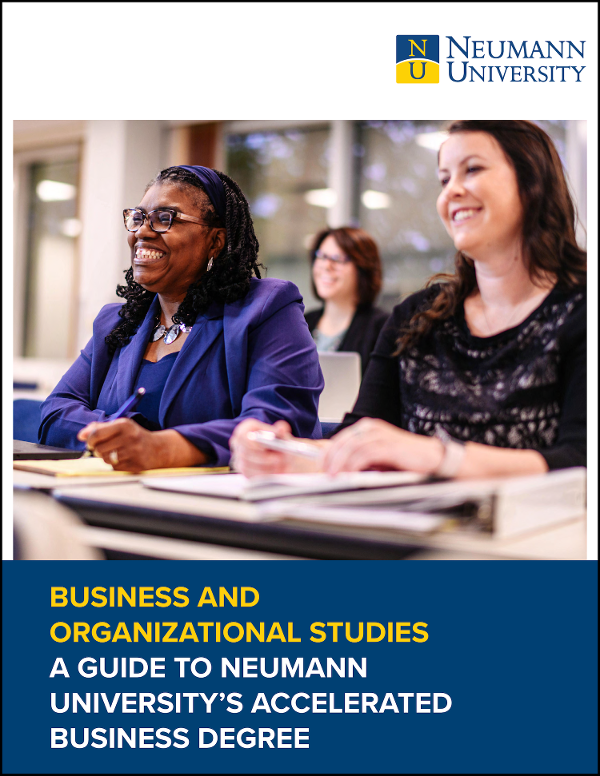 Neumann Univeristy Business and Organizational Studies Guide Cover