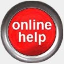 Image of online help button