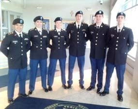 Alpha Company Color Guard