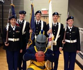 Alpha Company Color Guard