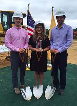 3 local NU alums at Teligent Expansion Groundbreaking Ceremony
