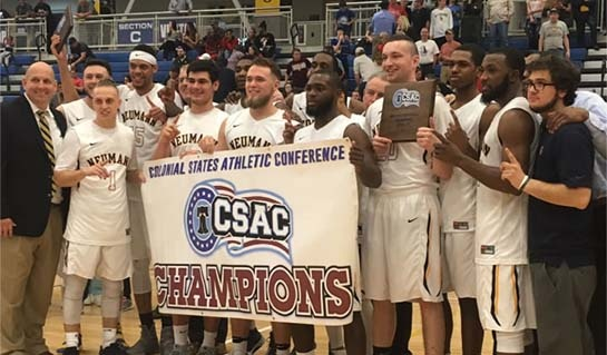 Photo of Men's Basketball Team - CSAC Champs