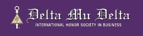Delta Mu Delta international honor society in business