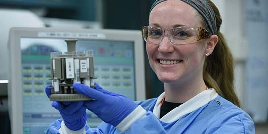 Krista's Lab Skills Launch Her Career