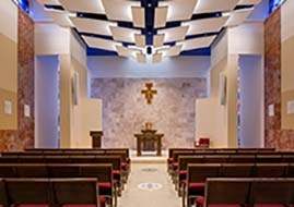 Photo of Sacred Heart Chapel in Bachmann Building