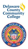 dccc and police academy logos