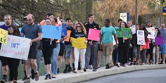 Students March to Take Back the Night